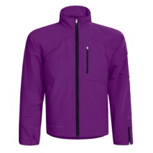 Obermeyer Element Jacket - Soft Shell (For Men) in Deep Purple - Closeouts