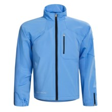 Obermeyer Element Jacket - Soft Shell (For Men) in Sky - Closeouts