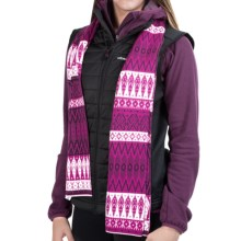 Obermeyer Ella Knit Scarf - Merino Wool (For Women) in Acai - Closeouts