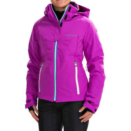 Obermeyer Empress Ski Jacket - Waterproof, insulated (For Women) in Viola - Closeouts