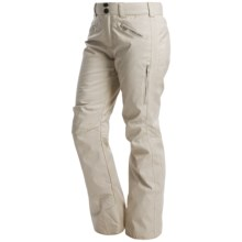 Obermeyer Essex Thinsulate® Ski Pants - Waterproof (For Women) in Iced Gold - Closeouts