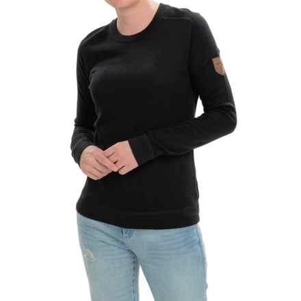 Obermeyer Fiona Sweater - Merino Wool Blend, Long Sleeve (For Women) in Black - Closeouts