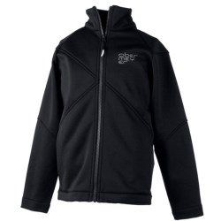 Obermeyer Fleece Jacket - Full Zip (For Boys) in Lava