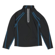 Obermeyer Flex Pullover Shirt - Zip Neck, Long Sleeve (For Boys) in Jester - Closeouts