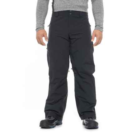 Obermeyer Force Ski Pants - Waterproof, Insulated (For Men) in Black - Closeouts
