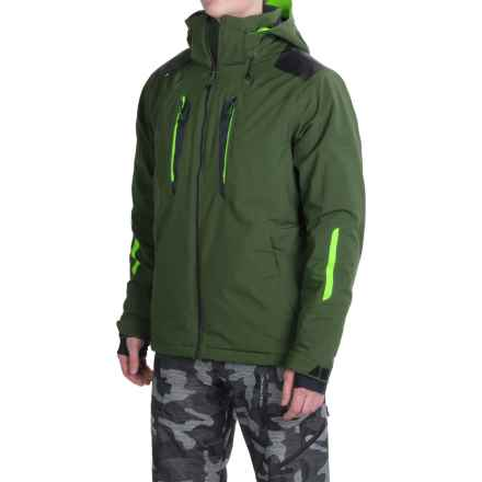 Obermeyer Foundation Permaloft Ski Jacket - Insulated (For Men) in Covert - Closeouts