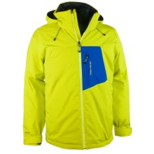 Obermeyer Foundation Ski Jacket - Waterproof, Insulated (For Men) in Lightsaber - Closeouts