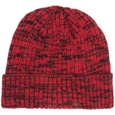 Obermeyer Freddy Knit Beanie (For Men) in True Red - Closeouts