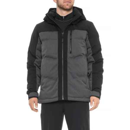 Obermeyer Gamma Down Ski Jacket - Waterproof (For Men) in Herringbone - Closeouts