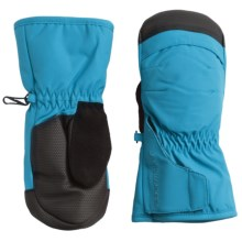 Obermeyer Gauntlet Mittens - Waterproof, Insulated (For Little and Big Kids) in Bluebird - Closeouts
