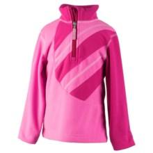 Obermeyer Gem Fleece Pullover Jacket - Zip Neck, Long Sleeve in Wild Berry - Closeouts