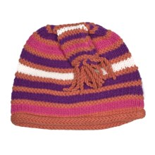 Obermeyer Gracie Knit Hat (For Little Girls) in Creamsicle - Closeouts