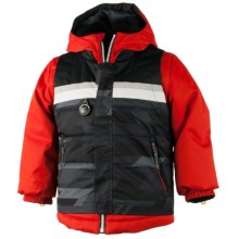 Obermeyer Grom Ski Jacket - Waterproof, Insulated (For Boys) in Lava - Closeouts