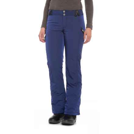 Obermeyer Harlow Pants - Waterproof, Insulated (For Women) in Res At Midnight - Closeouts