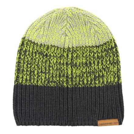 e3a0beb05fb Obermeyer Hat Trick Beanie (For Men) in Green Flash - Closeouts