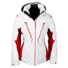 Obermeyer Helyos Ski Jacket - Waterproof, Insulated (For Women) in Crimson - Closeouts