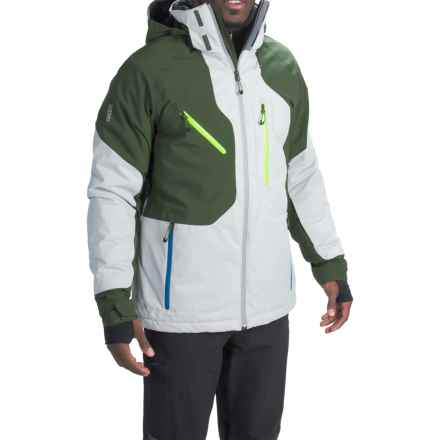 Obermeyer Hunter Ski Jacket - Waterproof, Insulated (For Men) in Phantom - Closeouts