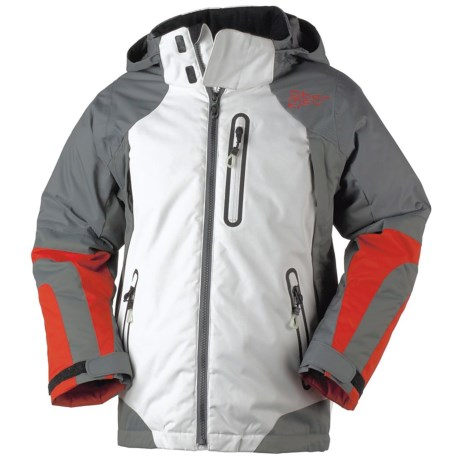 Obermeyer Icon Jacket - Insulated (For Boys) in White