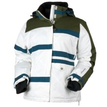 Obermeyer Josie Jacket - Insulated (For Women) in Treeline - Closeouts