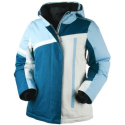 Obermeyer Josie Jacket - Insulated (For Women) in Whitewater