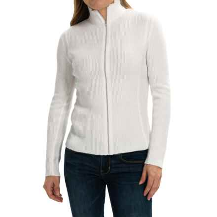 Obermeyer Joy Cardigan Sweater (For Women) in White - Closeouts