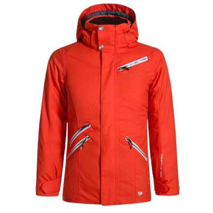 Obermeyer June Ski Jacket - Waterproof, Insulated (For Big Girls) in Tigers Eye - Closeouts