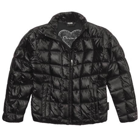 Obermeyer Kassandra Sweater Jacket - Down (For Girls) in Black