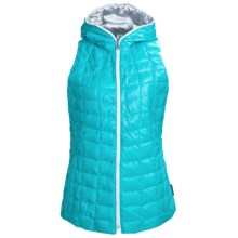 Obermeyer Kassi Down Vest - 550 Fill Power, Hooded (For Women) in Waterfall - Closeouts