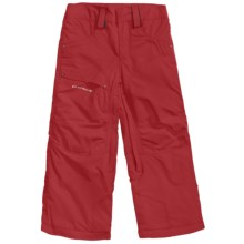 Obermeyer Ketza Snow Pants - Insulated (For Boys) in True Red - Closeouts