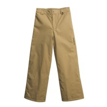 Obermeyer Keystone Snow Pants - Insulated (For Girls) in Khaki - Closeouts