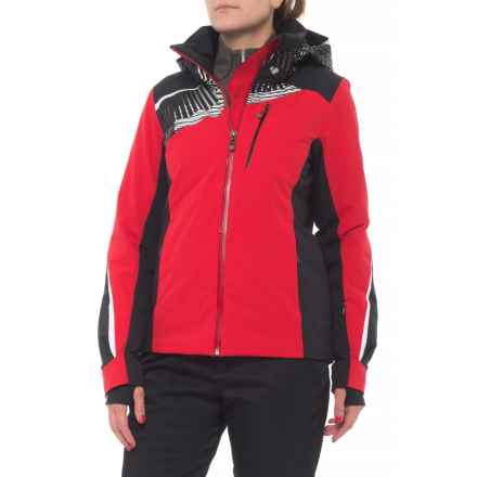 Obermeyer Kitzbuhel Ski Jacket - Waterproof, Insulated (For Women) in Crimson - Closeouts