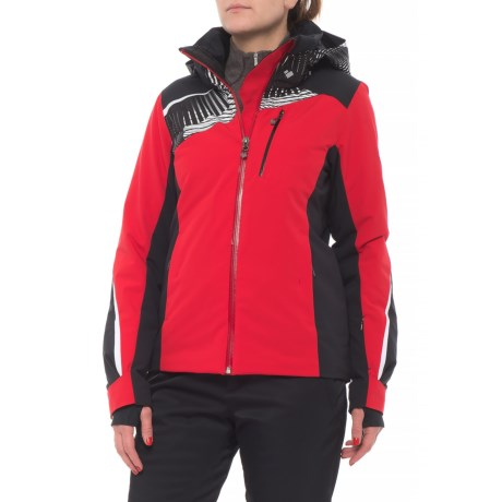 Obermeyer Kitzbuhel Ski Jacket - Waterproof, Insulated (For Women) in Crimson