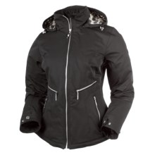 Obermeyer Kristina Jacket - Genesis Stretch, Thinsulate® (For Women) in Black - Closeouts