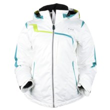 Obermeyer Lara Jacket - Insulated (For Women) in White - Closeouts