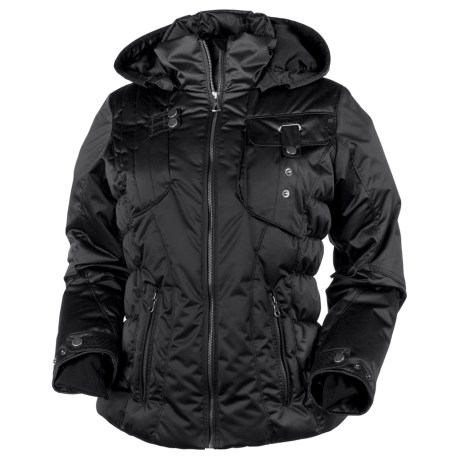 Obermeyer Leighton Jacket - Insulated (For Women) in Black