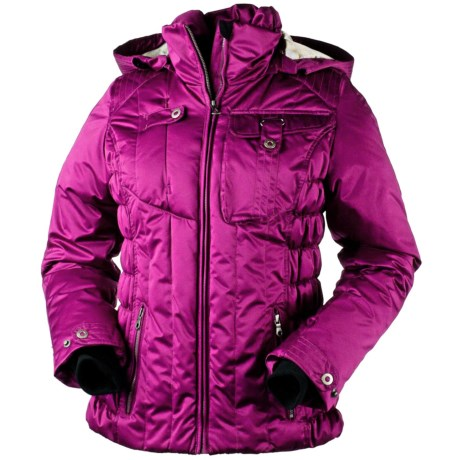 Obermeyer Leighton Jacket - Insulated (For Women) in Magenta