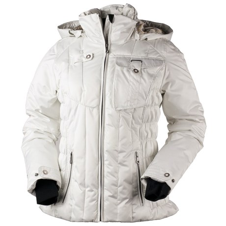 Obermeyer Leighton Jacket - Insulated (For Women) in Powder