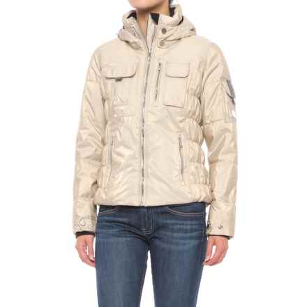 Obermeyer Leighton Luxe Ski Jacket - Waterproof, Insulated (For Women) in Iced Gold - Closeouts