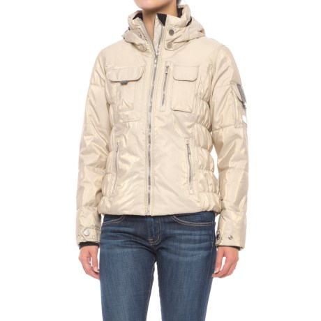 Obermeyer Leighton Luxe Ski Jacket - Waterproof, Insulated (For Women) in Iced Gold