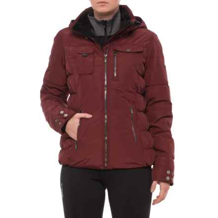 Obermeyer Leighton Ski Jacket - Waterproof, Insulated (For Women) in Clove - Closeouts