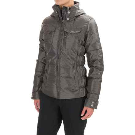 Obermeyer Leighton Ski Jacket - Waterproof, Insulated (For Women) in Houndstooth - Closeouts