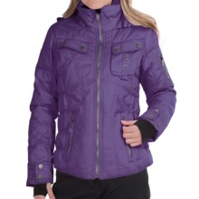 Obermeyer Leighton Ski Jacket - Waterproof, Insulated (For Women) in Italian Plum - Closeouts
