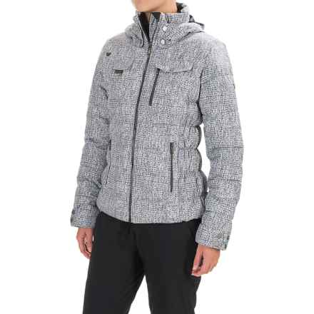 Obermeyer Leighton Ski Jacket - Waterproof, Insulated (For Women) in Mini Tweed - Closeouts