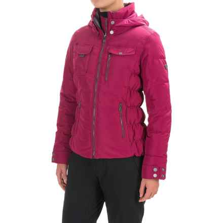 Obermeyer Leighton Ski Jacket - Waterproof, Insulated (For Women) in Pinot Vino - Closeouts