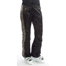 Obermeyer Lennox Snow Pants (For Women) in Black/Leopard - Closeouts