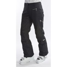 Obermeyer Lennox Snow Pants (For Women) in Black Luxure - Closeouts