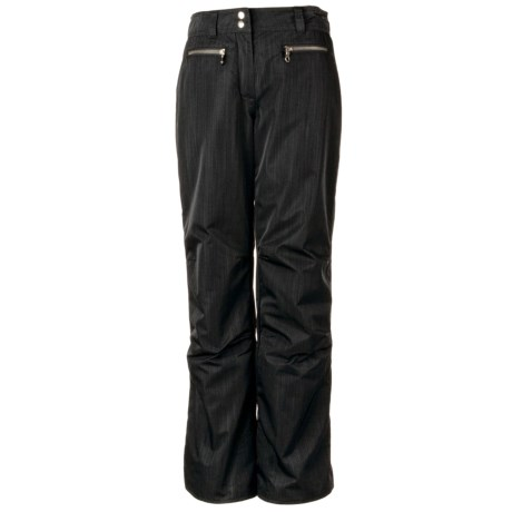 Obermeyer Lennox Snow Pants (For Women) in Black Luxure