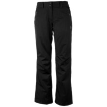 Obermeyer Lennox Snow Pants - Insulated (For Women) in Black - Closeouts
