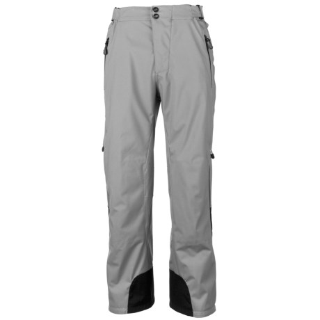 Obermeyer Lightning Snow Pants - Insulated (For Men) in Quarry