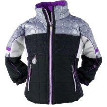 Obermeyer Lush Jacket - Insulated (For Girls) in Black - Closeouts